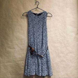 Michael Kors sleeveless dress & belt